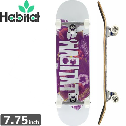 ハビタット HABITAT スケートボード コンプリート】FOLIAGE COMPLETE[7.7インチ]NO13
