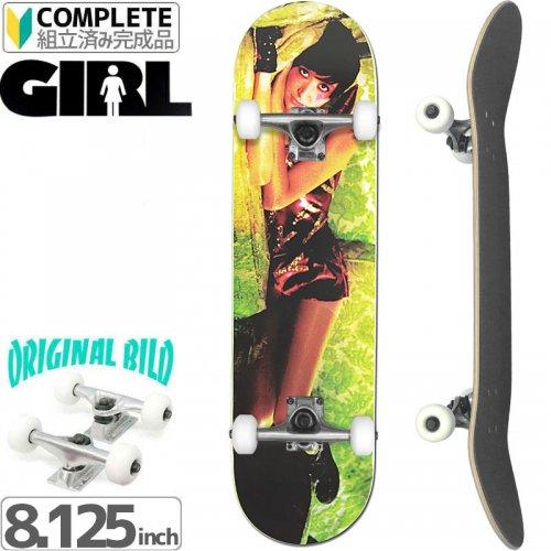【GIRL SKATEBOARD ガール コンプリート】SPIKE JONZE[8.125インチ]オリジナルビルド NO31