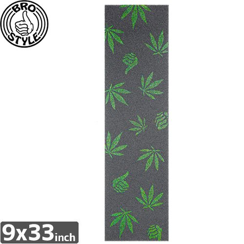 【BRO STYLE ブロスタイル スケボー デッキテープ】WEED AZZLE GRIP TAPE【9 x 33】NO6