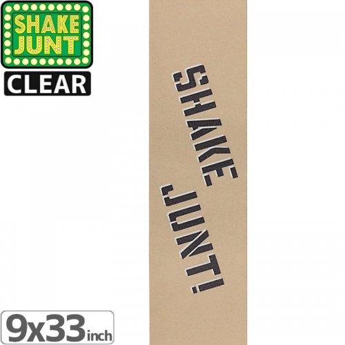 【シェイクジャント SHAKE JUNT デッキテープ】CLEAR GRIPTAPE【9x33】NO19