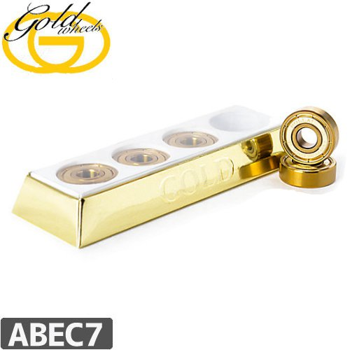 【GOLD ゴールド ベアリング】GOLD BRICK BEARING【ABEC7】NO1
