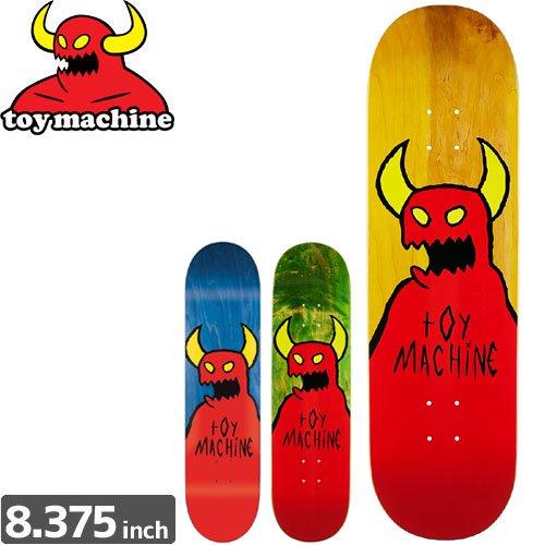 【トイマシーン TOY MACHINE デッキ】SKETCHY MONSTER DECK[8.3インチ]NO157