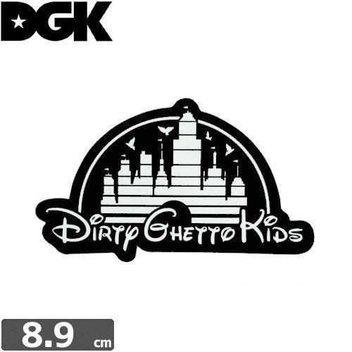 【ディージーケー DGK スケボー ステッカー】KINGDOM STICKER【5.3cm×8.9cm】N90