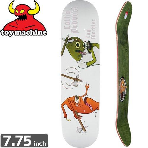 【トイマシーン TOY MACHINE スケートボード デッキ】PROVOST TURTLE BOY AXE DECK[7.7インチ]NO158
