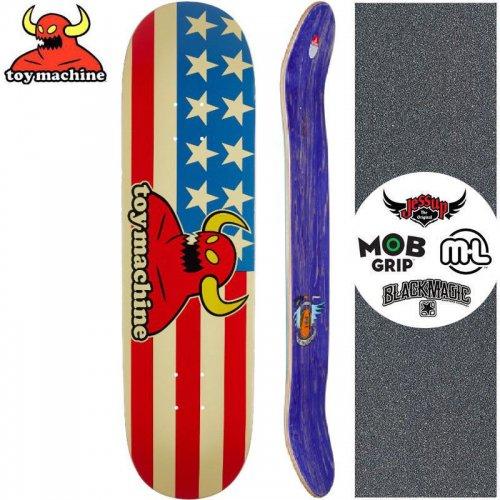 【トイマシーン TOY MACHINE スケートボード デッキ】AMERICAN MONSTER DECK[7.7インチ]NO159