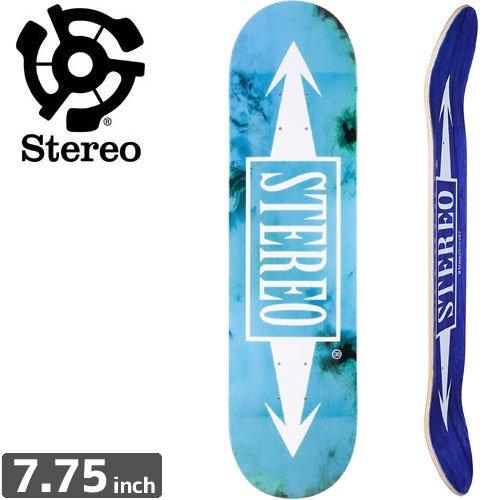 【STEREO ステレオ スケートボード デッキ】SMOKEY ARROWS DECK[7.7インチ]NO52