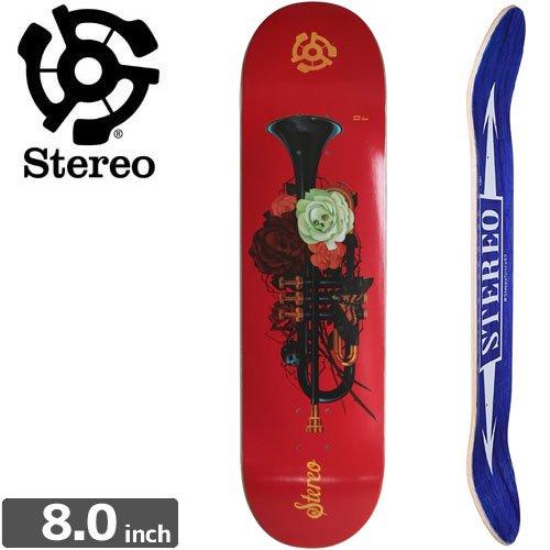 【STEREO ステレオ スケートボード デッキ】AMOR ETERNO TRUMPET DECK[8.0インチ]NO54