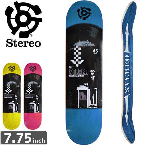 【STEREO ステレオ スケートボード デッキ】TEAM 45 RPM DECK[7.7インチ]NO58