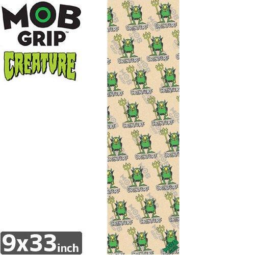 【モブグリップ MOB GRIP デッキテープ】BEELZEBUB PATTERN CLEAR GRIPTAPE【CREATURE】【9 x 33】NO147