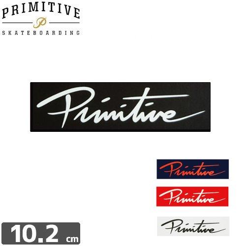 【プリミティブ PRIMITIVE スケボー ステッカー】LOGO STICKER【4色】【2.8cm×10.2cm】NO15
