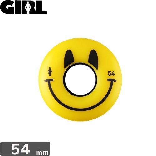 【GIRL ガールスケートボード ウィール】HAPPY WHEELS【80A 】【54mm】NO34