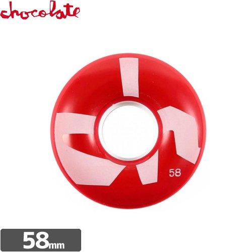 【チョコレート CHOCOLATE ウィール】BIG CHUNK CRUISER WHEEL【58mm】【80A】NO36