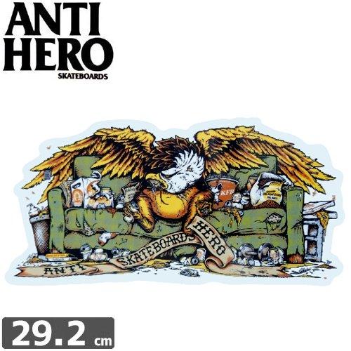 【アンタイヒーロー ANTIHERO スケボー ステッカー】OBESE EAGLE【13.8cm x 29.2cm】NO43