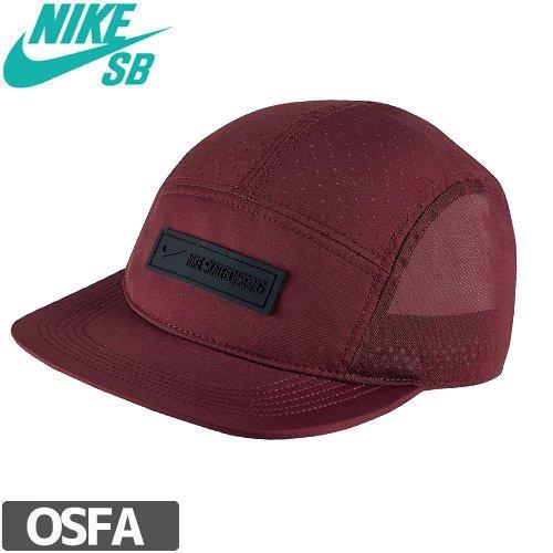 【ナイキ エスビー NIKE SB スケボー キャップ】WINE RED MESH CAP【ワインレッド】NO24