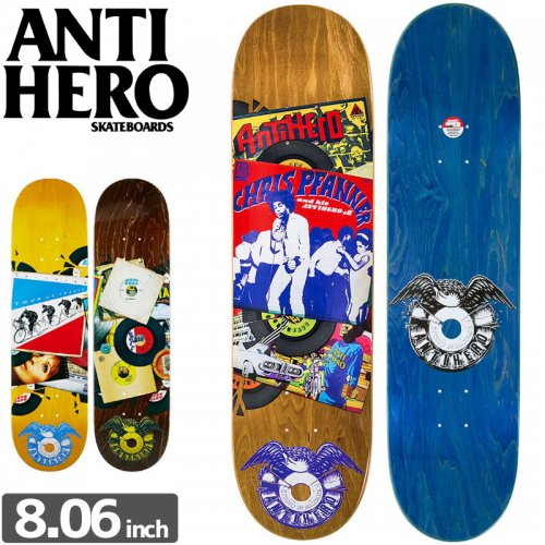 【ANTI HERO アンタイヒーロー デッキ】STUDIO 18 RECORDS DECK[8.06インチ]NO108