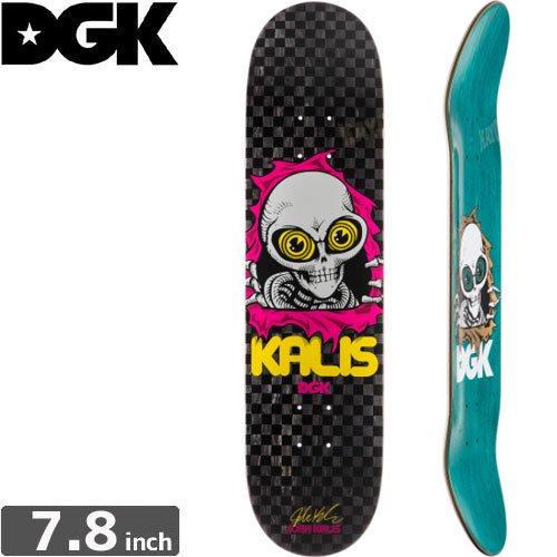 【ディージーケー DGK スケボー デッキ】RIPPING KALIS DECK [7.8インチ]NO293