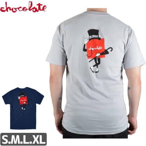 【チョコレート CHOCOLATE Tシャツ】MISTER CHOCOLATE TEE【グレー】【ネイビー】NO161