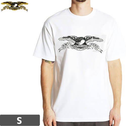 【アンチヒーロー ANTIHERO スケボーTシャツ】BASIC EAGLE PKT TEE【ホワイト】NO90