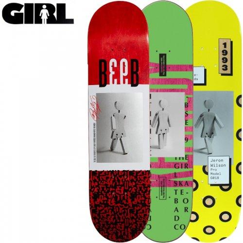 【ガール GIRL スケボーデッキ】CONTEMPORARY OG DECK [8.0インチ][8.1インチ]NO198