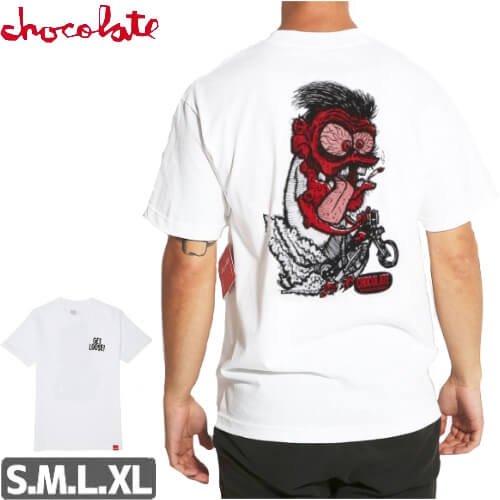 【チョコレート CHOCOLATE Tシャツ】GET LOOSE TEE【ホワイト】NO162