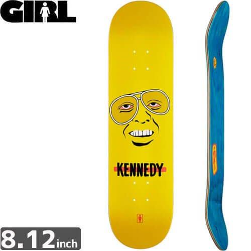【ガール GIRL スケボーデッキ】KENNEDY KING CORYMAN DECK [8.1インチ]NO201
