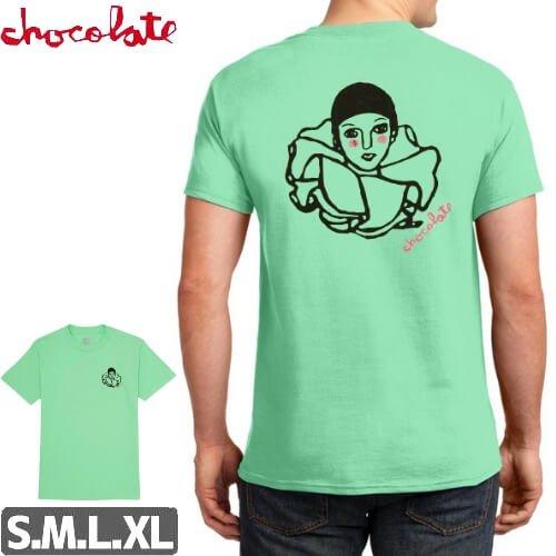 【チョコレート CHOCOLATE Tシャツ】PAGLIACCI CHUNK TEE【グリーン】NO163