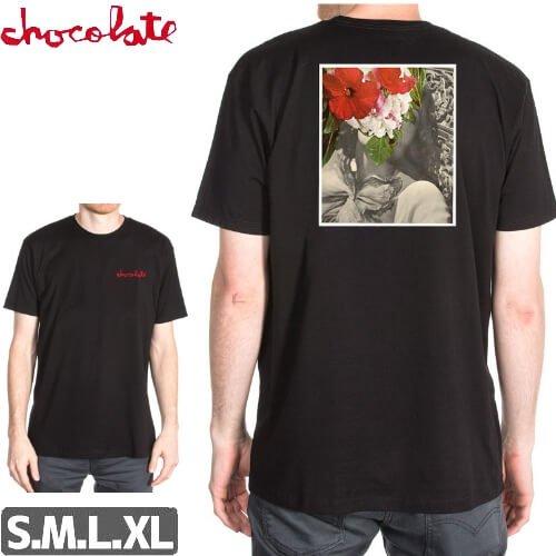 【チョコレート CHOCOLATE Tシャツ】DRU COLLAGE PREMIUM【ブラック】NO165