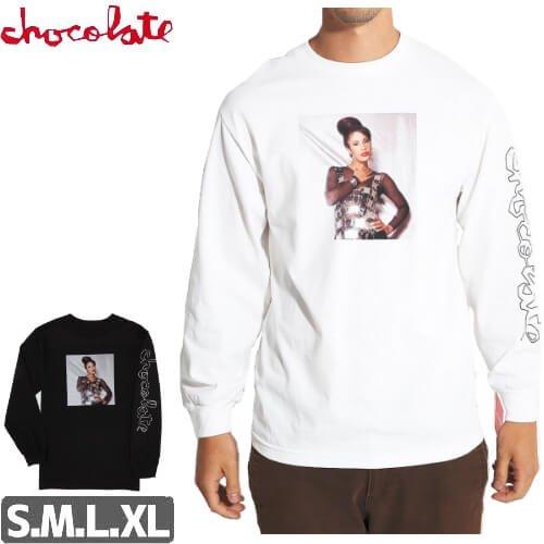 【チョコレート CHOCOLATE スケボー ロングTシャツ】LA REINA L/S 長袖【2カラー】NO8