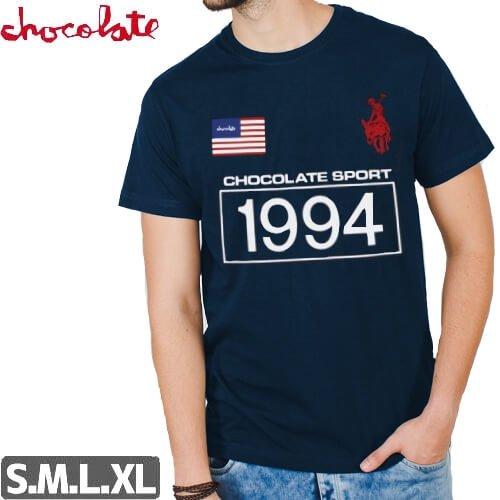 【チョコレート CHOCOLATE Tシャツ】ROLO 94 TEE【ネイビー】NO166
