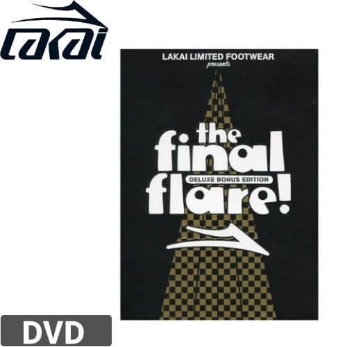 【LAKAI ラカイ スケボー DVD】FINAL FLARE! DELUXE BONUS EDITION