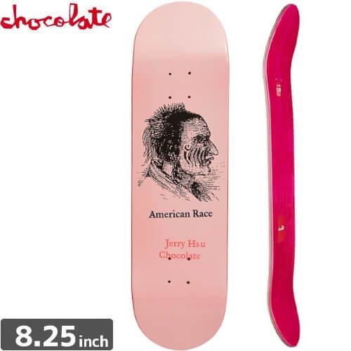 【チョコレート CHOCOLATE スケートボード デッキ】HSU AMERICAN RACE DECK [8.2インチ] NO141