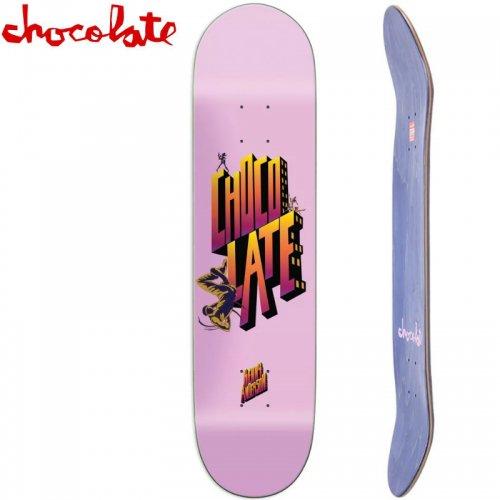 【チョコレート CHOCOLATE スケートボード デッキ】ANDERSON BODY ROCK [8.1インチ] NO142