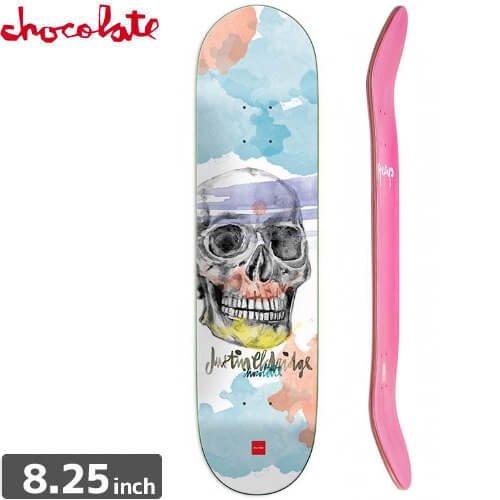 【チョコレート CHOCOLATE スケートボード デッキ】ELDRIDGE SKULL DECK [8.2インチ] NO143