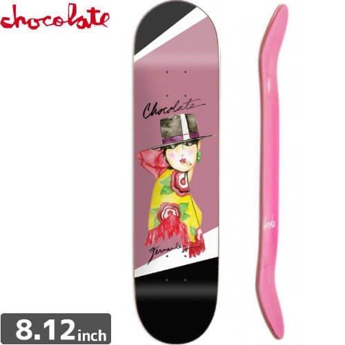 【チョコレート CHOCOLATE スケートボード デッキ】FERNANDEZ BOLERO DECK [8.1インチ] NO144