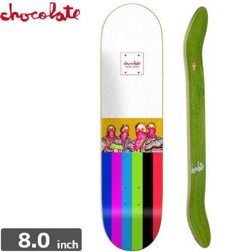 【チョコレート CHOCOLATE スケートボード デッキ】ALVAREZ ZAPATISTAS DECK[8.0インチ]NO149