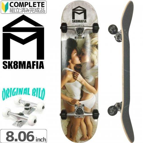 【スケートマフィア SK8MAFIA スケートボード コンプリート】SKATE LOVE DECK[8.06インチ]オリジナルビルド NO11