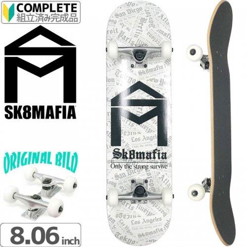 【スケートマフィア SK8MAFIA スケートボード コンプリート】TIMES HOUSE[8.06インチ]オリジナルビルド NO12