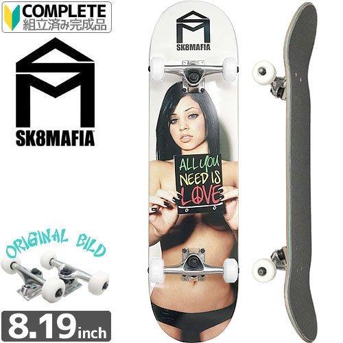 【スケートマフィア SK8MAFIA スケートボード コンプリート】GABBY[8.19インチ]オリジナルビルド NO13