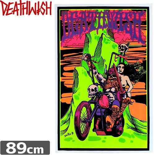 【デスウィッシュ DEATHWISH ポスター スケボー】DEATHWIDH FELT PRINT POSTER NO01