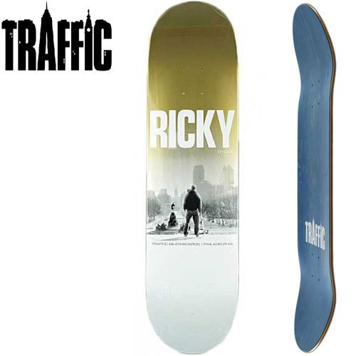 【TRAFFIC トラフィック スケボー デッキ】RICKY OYOLA RICKY DECK[8.0インチ]NO4