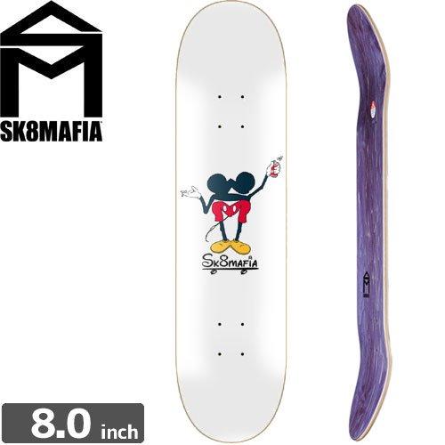 【スケートマフィア SK8MAFIA スケボー デッキ】HAPPY PLACE DECK[8.0インチ]NO99