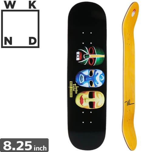 【ウィークエンド WKND スケボー デッキ】Taylor Ninja Mask Deck[8.25インチ]NO6