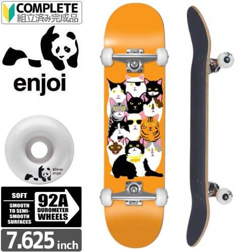 【エンジョイ ENJOI スケボー コンプリート】CAT COLLAGE V2 COMPLETE 92A[7.6インチ]NO15