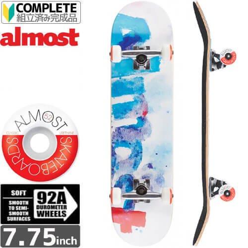 【オルモスト ALMOST スケボー コンプリート】COLOR BLEED COMPLETE [7.75インチ]NO19