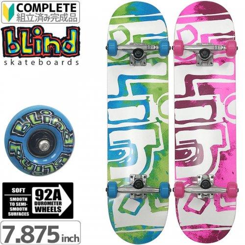 【ブラインド BLIND スケートボード コンプリート】Blind OG Water Color Complete 92A[7.875インチ]NO99