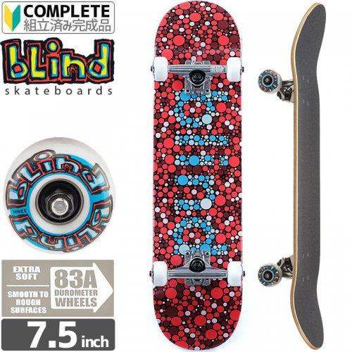 【ブラインド BLIND スケートボード コンプリート】COLORBLIND COMPLETE 83A[7.5インチ]ソフトウィール NO104
