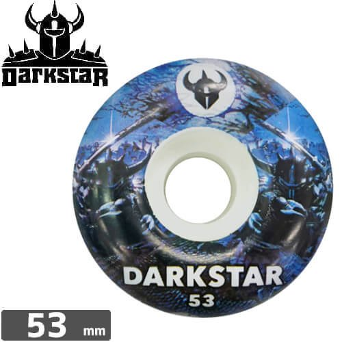 【ダークスター DARKSTAR ウィール】THROWBACK 2 WHEEL【53mm】NO42