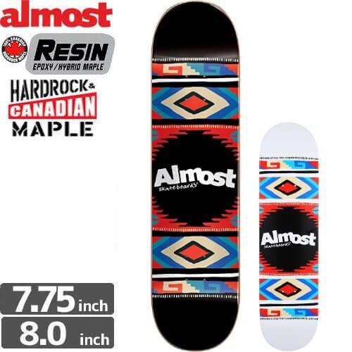 【オルモスト ALMOST デッキ】AZTEK BLANKET DECK HYB[7.75インチ]NO108