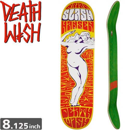 【デスウィッシュ DEATH WISH スケボー デッキ】SLASH LADY OF THE NIGHT[8.125インチ]NO59