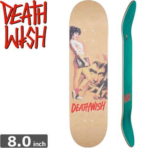 【デスウィッシュ DEATH WISH スケボー デッキ】GOING STEADY DECK[8.0インチ]NO60